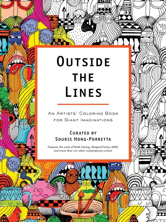Contest Win Artists Coloring Book Outside The Lines