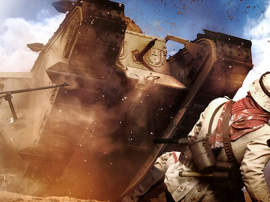 Tank battles are a hoot in Battlefield 1.