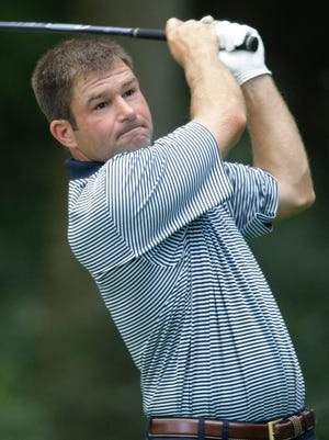 Michael O'Reilly, seen here competing in the 2011 Wisconsin State Open at Blackwolf Run, is one of two Sheboygan golfers who will be competing in this year's event, which begins Monday at The Bull at Pinehurst Farms in Sheboygan Falls.