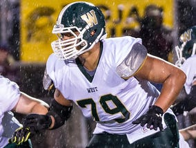 Thiyo Lukusa plays for Traverse City West