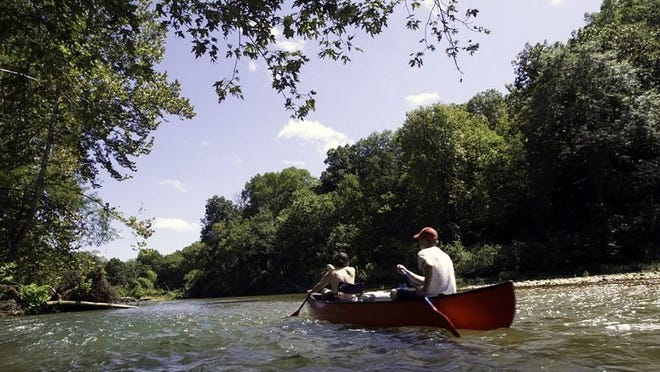 Learning how to interpret the signs of a river is one of the keys to a successful floating trip. People can learn more about how to read a river at a free Missouri Department of Conservation online program on Aug. 26.