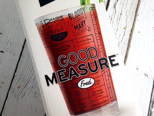 Good Measure cocktail recipe glass from Silver in the