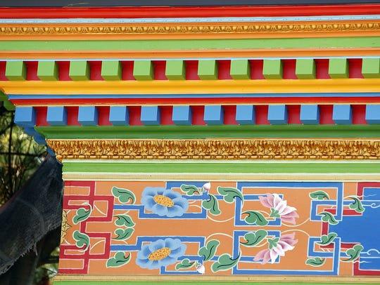 An entrance to the Tibetan Mongolian Buddhist Cultural