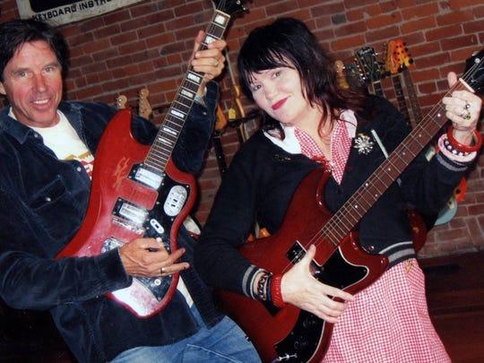 John Doe and Exene Cervenka of iconic punk band X.