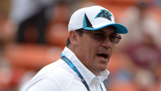 Carolina Panthers coach Ron Rivera told USA TODAY Sports on Friday the Panthers would have interest in signing free agent DeSean Jackson, who was released by the Philadelphia Eagles.