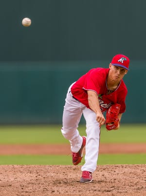 Griffin Jax, a rising Minnesota Twins pitching prospect, hopes to become the first Air Force Academy graduate to reach the big leagues.