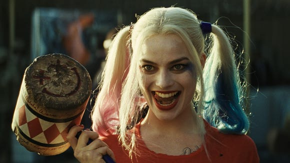Harley Quinn's hammer is as iconic as her voice.