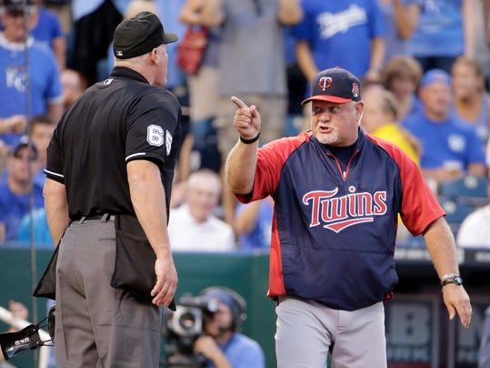 Twins Royals Baseball (2)