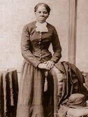 Rare photograph of renowned fighter Harriet Tubman.