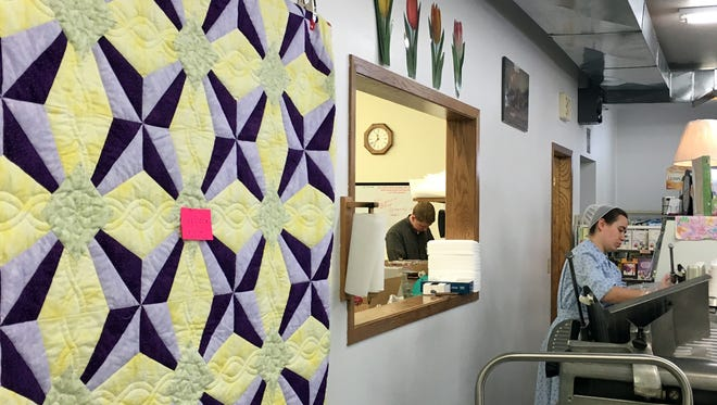 Hand-stitched quilts to deli meats are sold at Prairie Pines Country Store, N5448 Hwy. 17, Gleason. It is a Mennonite – not Amish – operation.