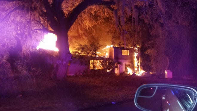 A suspect in several fires in Charlotte County Monday night has been arrested.