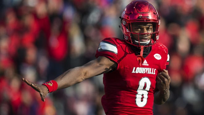 Lamar Jackson announced Friday that he is leaving U of L for the NFL draft.