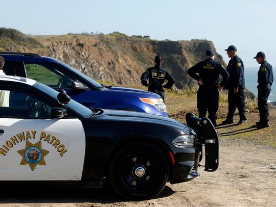 California Highway Patrol officers and deputy sheriffs