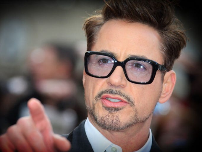 Robert Downey Jr. earned $75 million between June 2013 and June 2014, making him No. 1 on the Forbes Magazine list of Hollywood's highest paid male actors