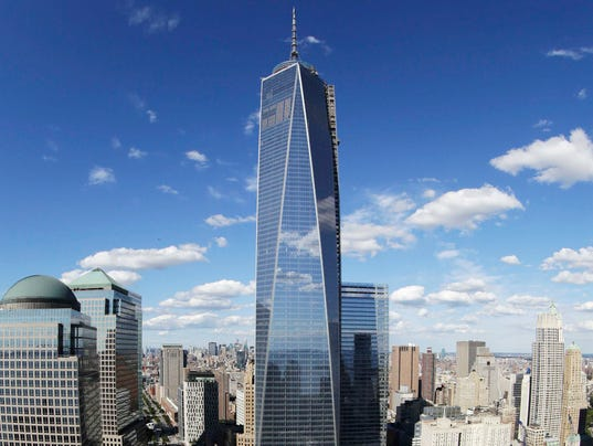 Skydivers arrested for World Trade Center jump
