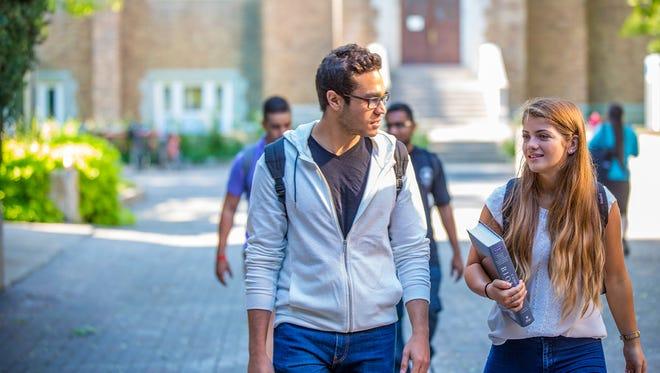 Students at Concordia University