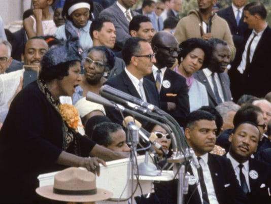 Race And Harmony Songs Tied To The March On Washington