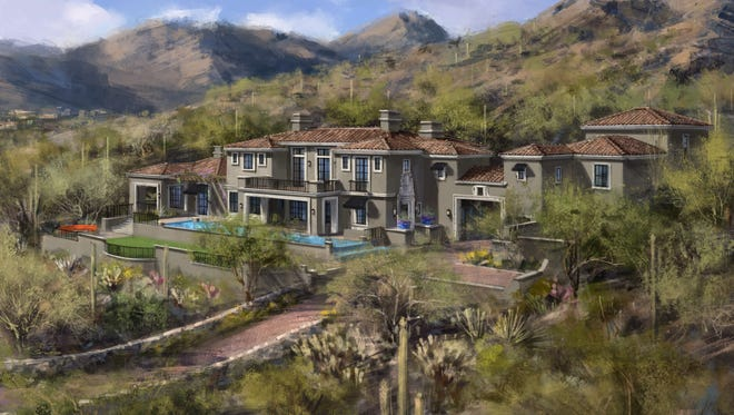 A rendering of the $6.9 million new build in Silverleaf's Upper Canyon.