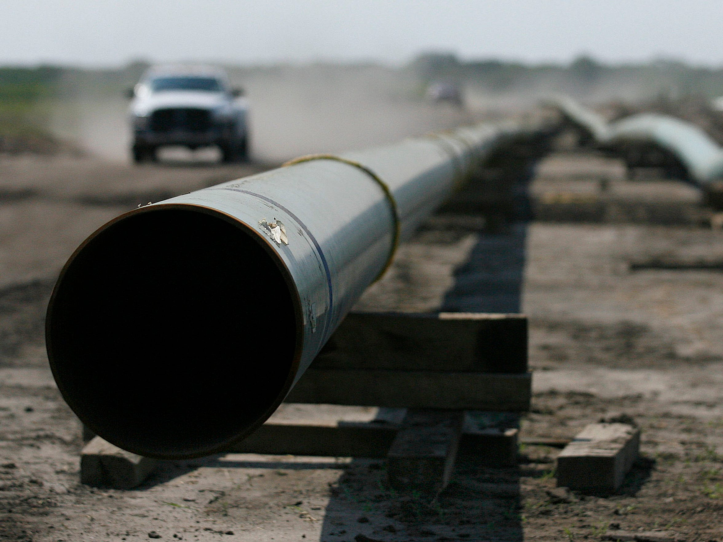 Pipelines are being built to connect the Corpus Christi area to the Permian Basin and Eagle Ford Shale.