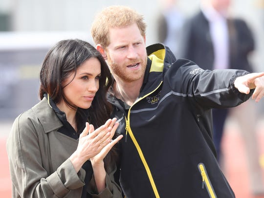 Meghan Markle and Prince attend the U.K. Team Trials