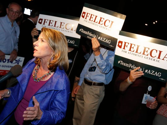 Democrat Felecia Rotellini will face Brnovich in the November General Election. The Attorney General's race is expected to be a hotly contested matchup.