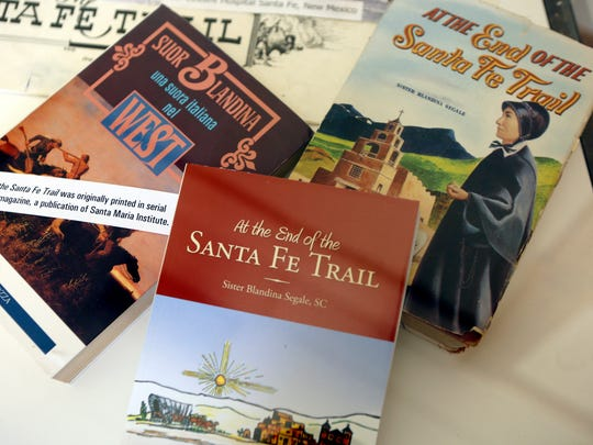 """After spending decades in the Southwest working as a Sister of Charity, the letters Sister Blandina wrote to her sister in Cincinnati were compiled into the book, """"At the End of the Santa Fe Trail."""""""