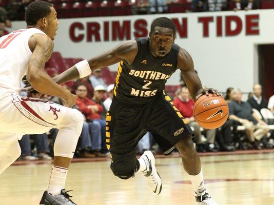 NCAA Basketball: Southern Mississippi at Alabama