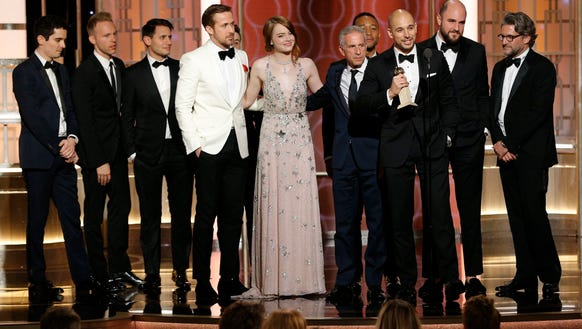 Watching 'La La Land' win Golden Globes is a small