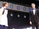 Shelby Morgan as a stewardess and Jacob Troupe as Henry