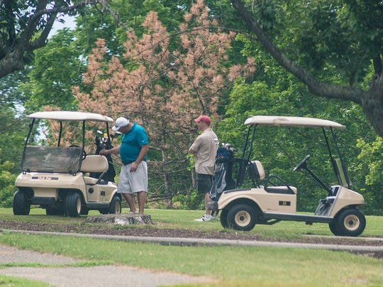 Officials have said that Hilltop is expected to need about $741,000 during the next five years to replace golf carts, perform maintenance and replace aging equipment.
