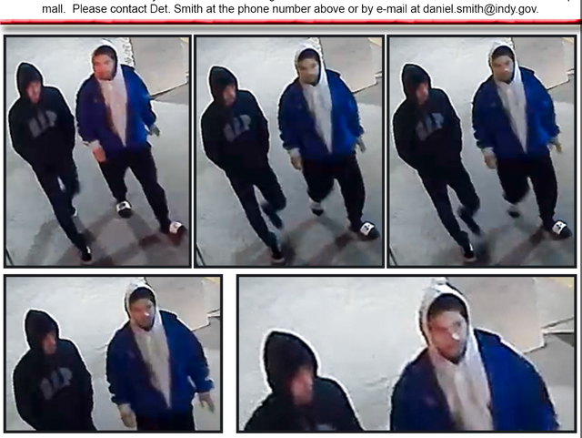 Police release photos of 2 wanted for questioning in shooting of