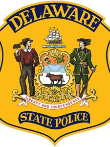 Delaware State Police are looking for two men they say robbed a man Friday night.