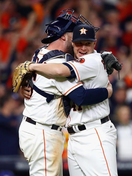 World Series - Los Angeles Dodgers v Houston Astros - Game Three