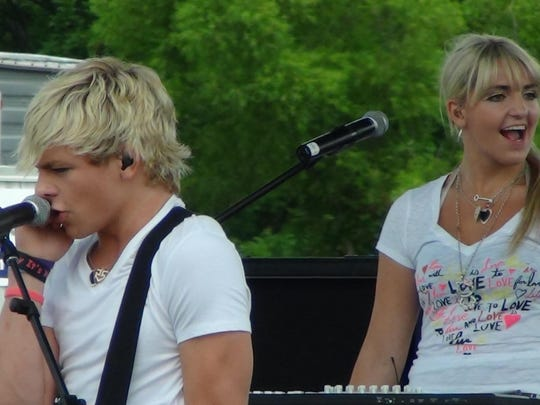 R5, pictured performing in Readington in 2012, will be at the Mercer County Park Festival Grounds this summer.