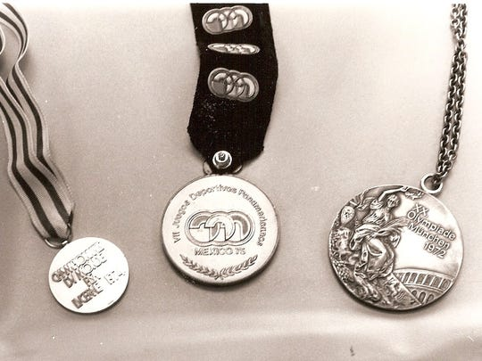 Tim Mickelson's won many medals as a member of the