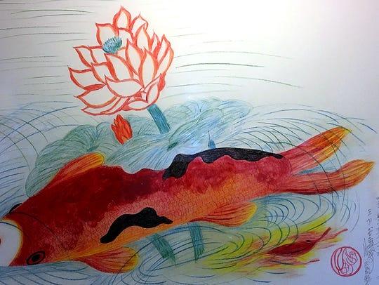 "Tsutomu ""Jimmy"" Mirikitani  (1920-2012) created this"