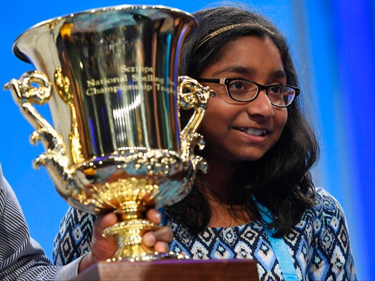 Ananya Vinay is the 2017 Scripps National Bee Champion.