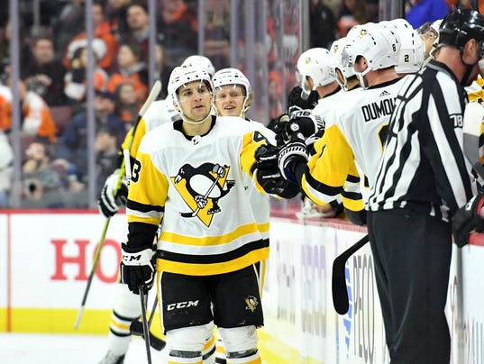 USP NHL: PITTSBURGH PENGUINS AT PHILADELPHIA FLYER S HKN PHI PIT USA PA