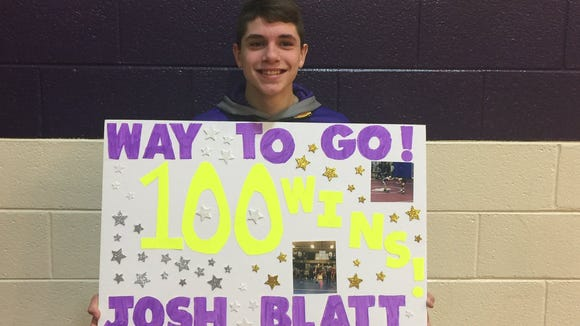 North Henderson sophomore Josh Blatt.