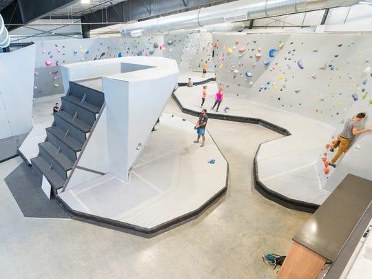 Mesa Rim climbing gym