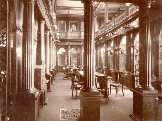 A look inside the original Steele Memorial Library in Elmira.