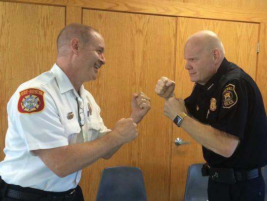 Farmington Hills Fire Department Lt. Jamie Neufeld