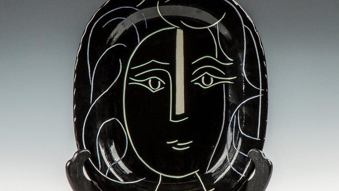 """""""Woman's Face"""" by Pablo Picasso"""