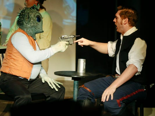 BOOTLESS STAGEWORKS: STAR WARS