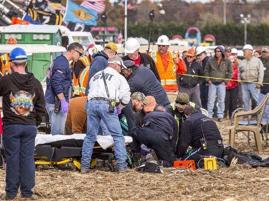 Suzanne Dakessian, the woman critically injured during the 2016 incident, filed a lawsuit against the Punkin Chunkin event organizers, state officials and Sharp Entertainment.