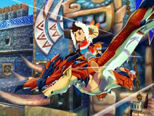 Monster Hunter Stories, 3DS.