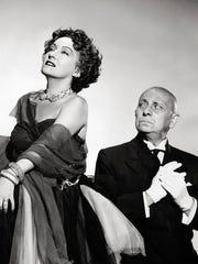 """Gloria Swanson and Erich von Stroheim star in """"Sunset"""