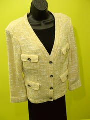 A St. John Jacket $229 with retail value more than $1,000.
