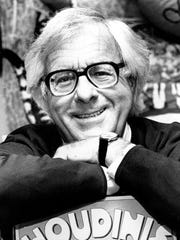 The late science fiction writer Ray Bradbury in 1982.