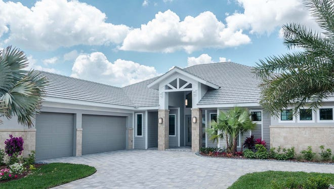 Marvin Development's Captiva model in Parrot Cay at Naples Reserve.
